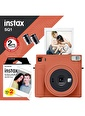 Fujifilm Instax SQ1 Terracotta Turuncu Fotoğraf Makinesi ve 20li Kare Film Oranj